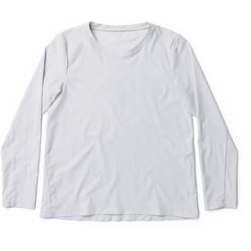 Houdini Cover Crew Shirt Dame ground grey